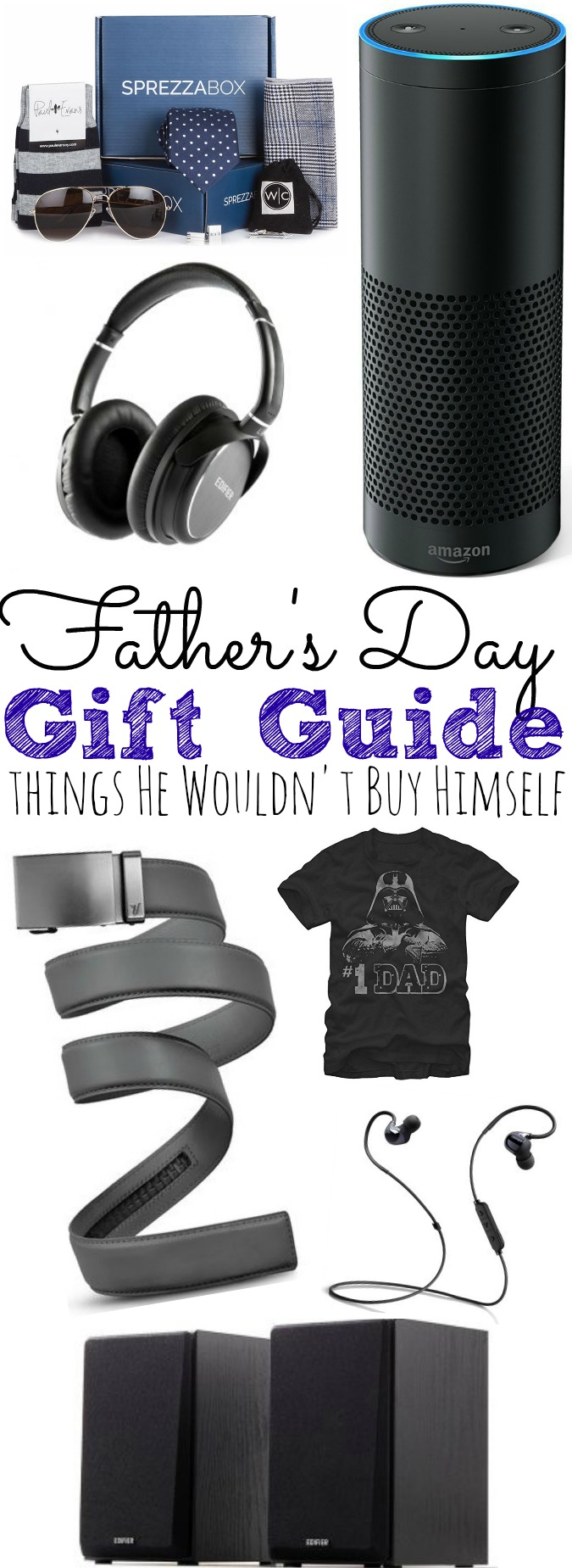 Father's Day Gift Guide | Things Dad Wouldn't Buy For Himself - simplytodaylife.com