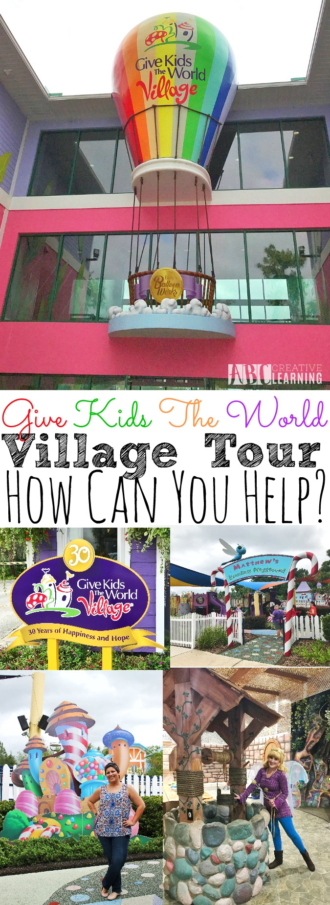 Give Kids The World Village Tour | How Can You Help? - simplytodaylife.com
