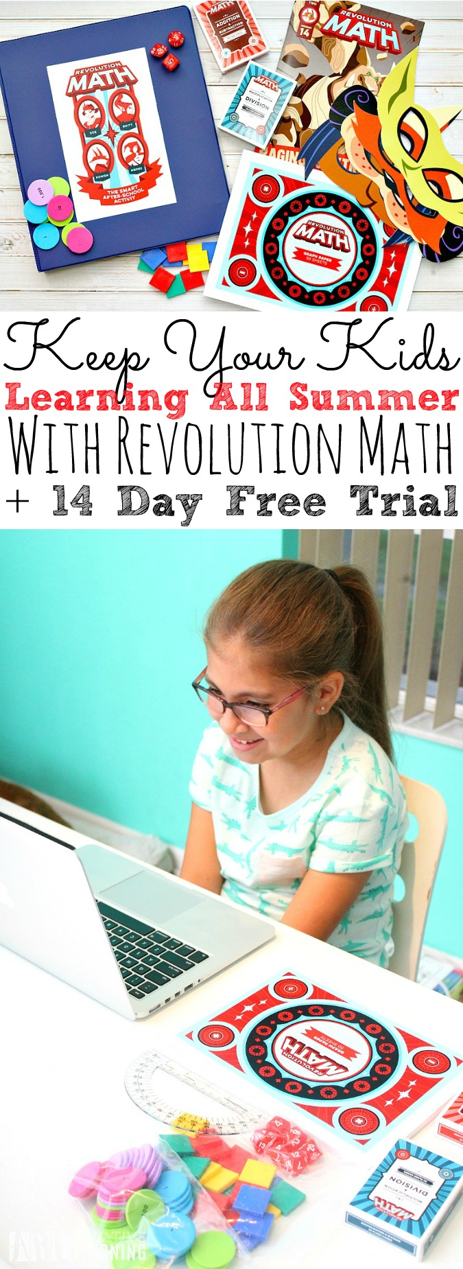 Keep Your Kids Learning All Summer With Revolution Math + 14 Day FREE Trial - simplytodaylife.com
