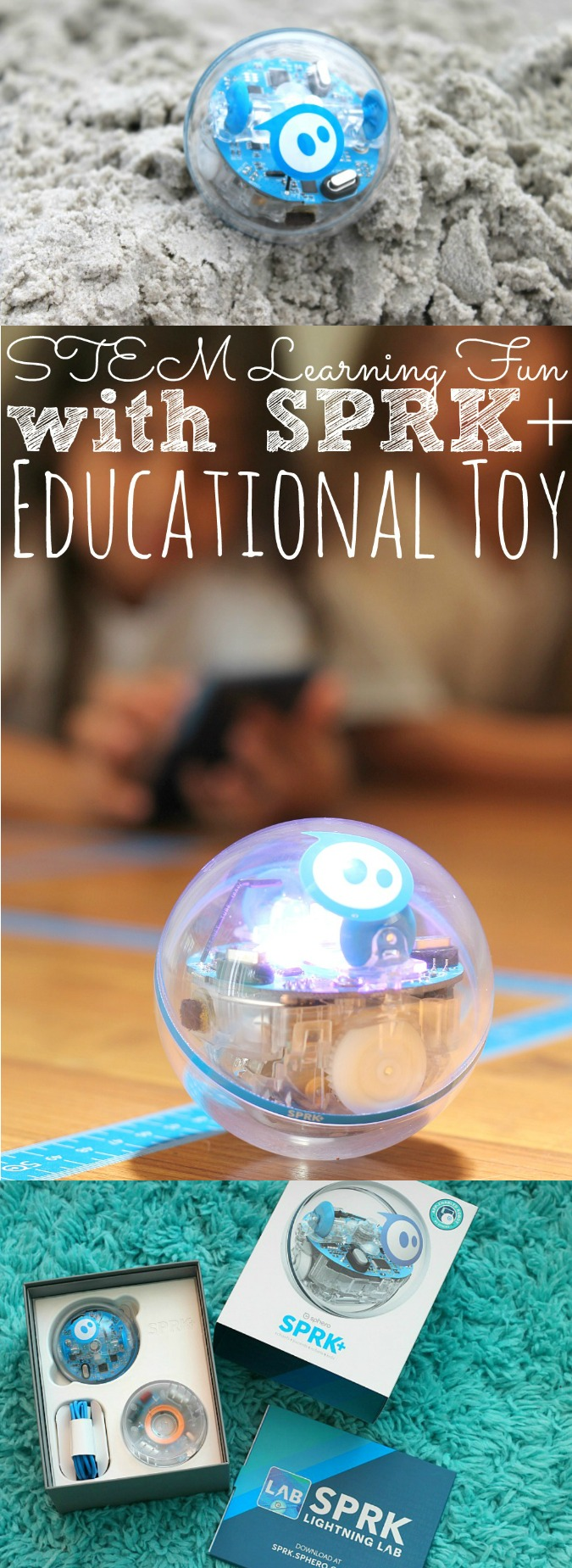 STEM Learning Fun With SPRK+ Educational Toy - simplytodaylife.com