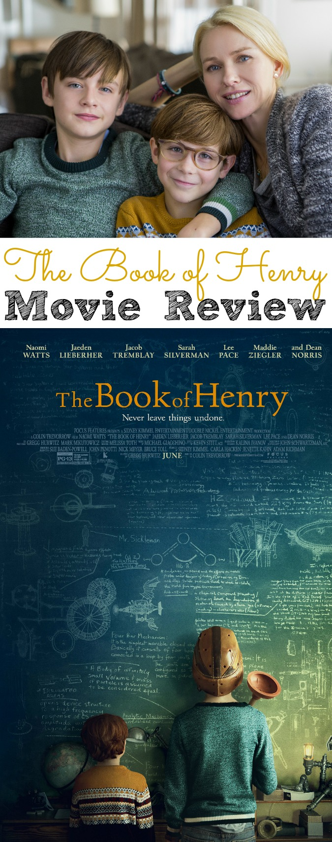 The Book of Henry Movie Review #TheBookofHenry - abccreativelearning.com