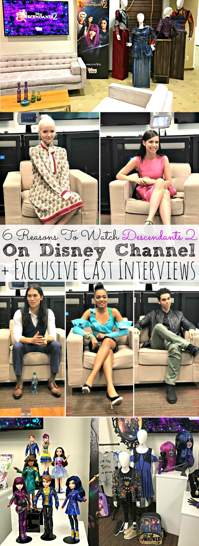 6 Reasons To Watch Descendants 2 and Exclusive Cast Interviews