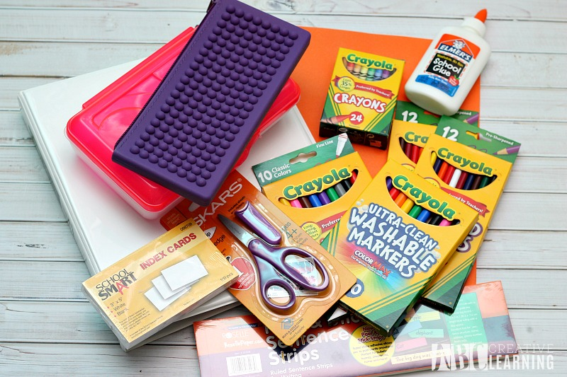 8 Tips For Parents to Create An Easy Back To School Transition - Purchase School Supplies Early