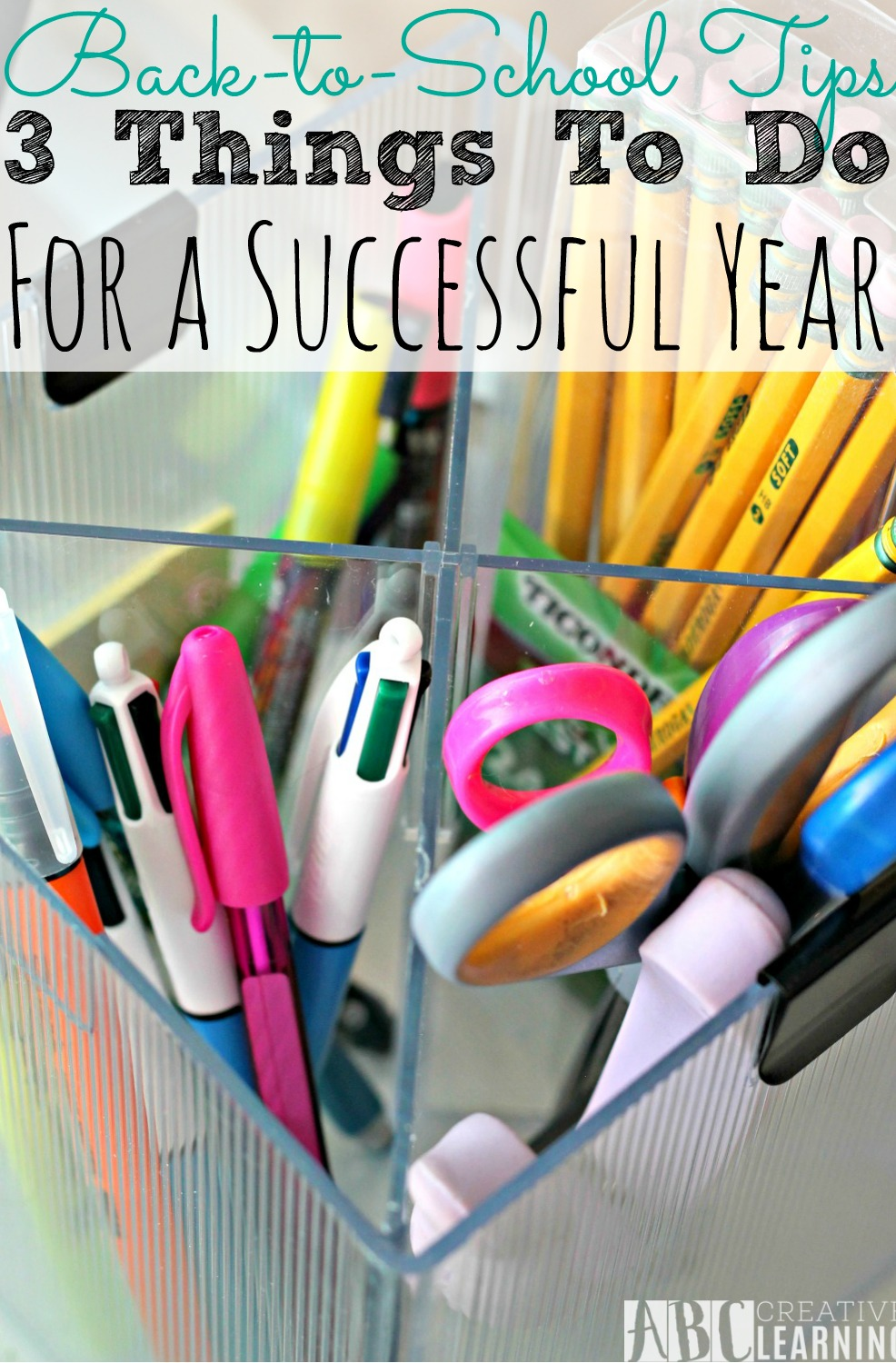 Back To School Tips | 3 Things To Do For A Successful Year - simplytodaylife.com