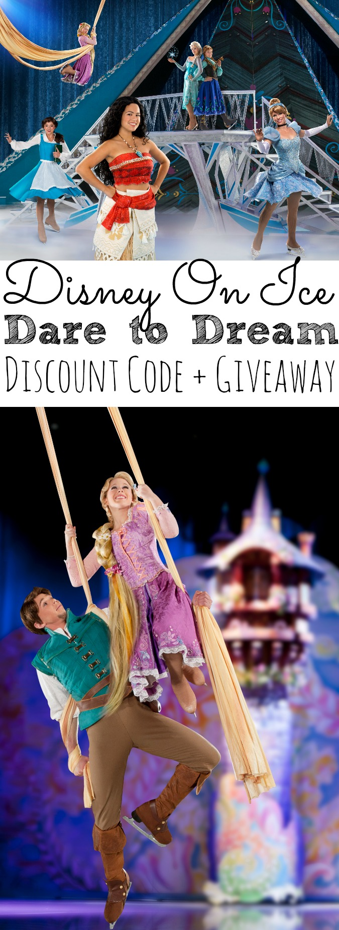 Disney On Ice Dare To Dream Discount Code + Giveaway - simplytodaylife.com