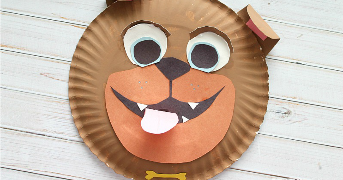Rolly and Bingo Paper Plate Kids Craft Inspired by Disney Junior ...