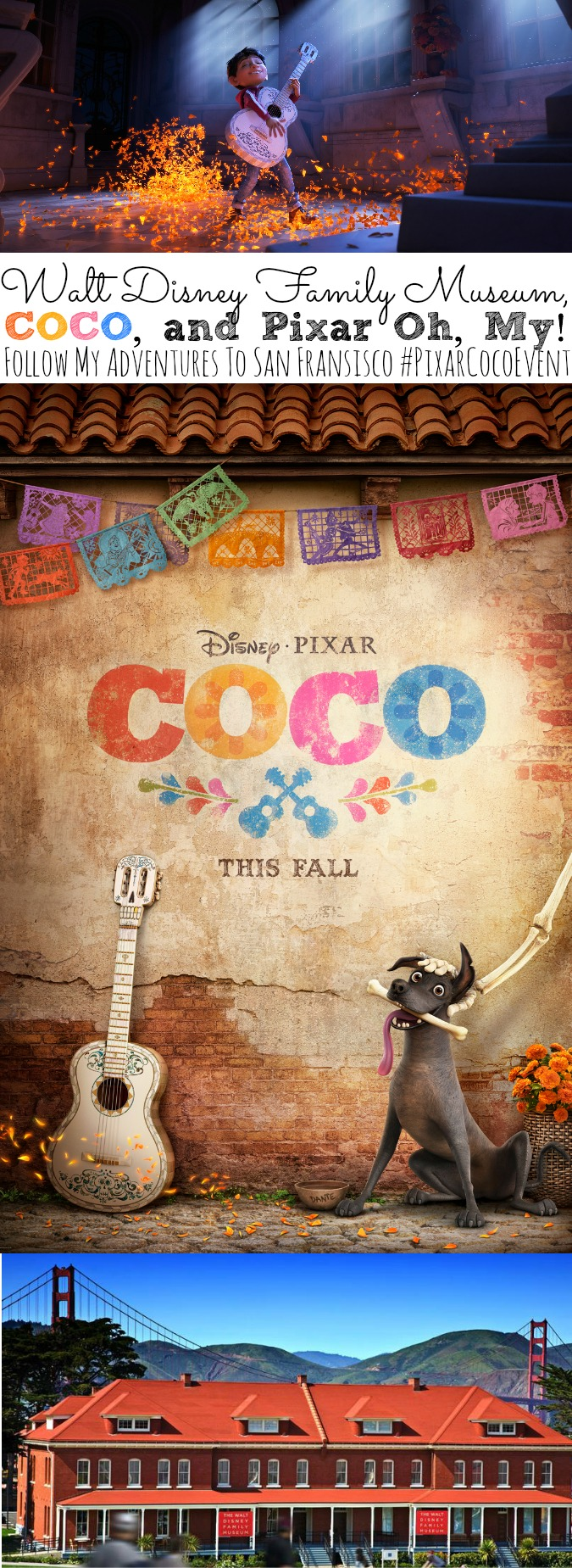 Walt Disney Family Museum, COCO, and Pixar Oh My! | Follow My Adventures To San Francisco #PixarCocoEvent - abccreativelearning.com