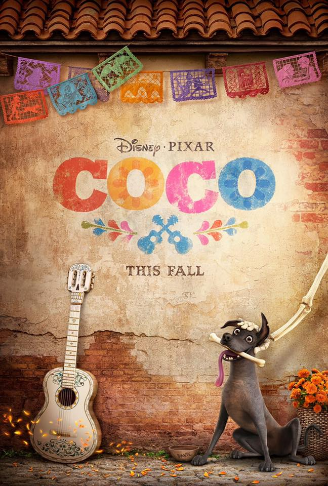 Lee Unkrich, Adrian Molina, and Darla K. Anderson Pixar Coco Interview | A Connection Of Family And Remembrance #PixarCOCOEvent - Coco Poster