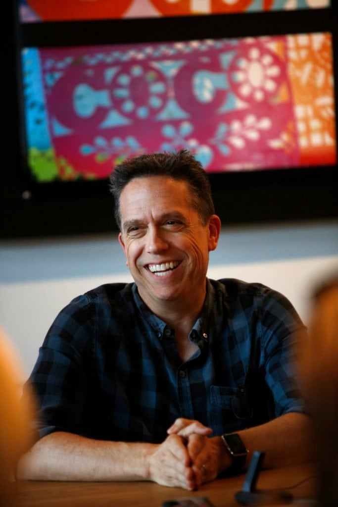 Lee Unkrich, Adrian Molina, and Darla K. Anderson Pixar Coco Interview | A Connection Of Family And Remembrance #PixarCOCOEvent - Lee Unkrich