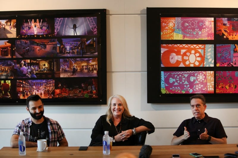 Lee Unkrich, Adrian Molina, and Darla K. Anderson Pixar Coco Interview | A Connection Of Family And Remembrance #PixarCOCOEvent