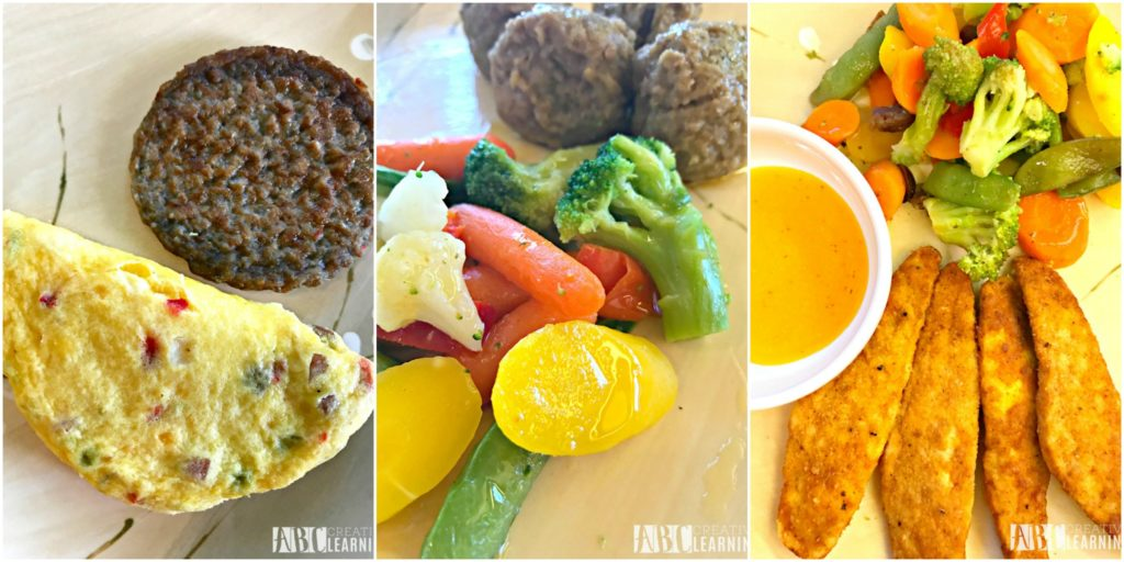 3 Tips To Eating Healthy On A Busy Schedule | My Weight Loss Journey Week 2 - Meal Example