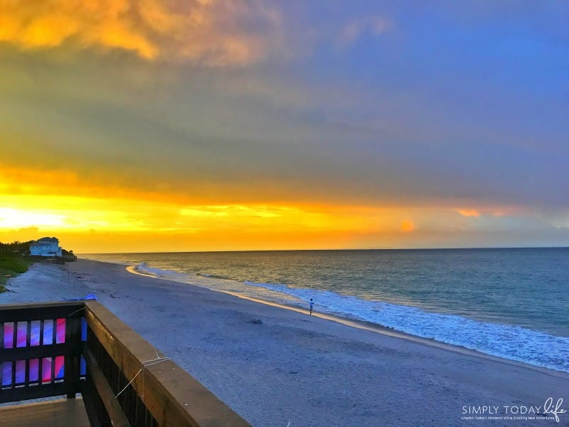8 Reasons To Stay At Disney's Vero Beach Resort + Room Tour - Sunset on the beach