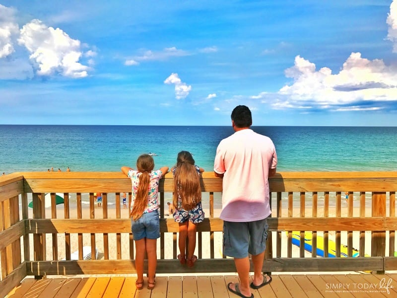 8 Reasons To Stay At Disney's Vero Beach Resort + Room Tour - Dock overlooking ocean