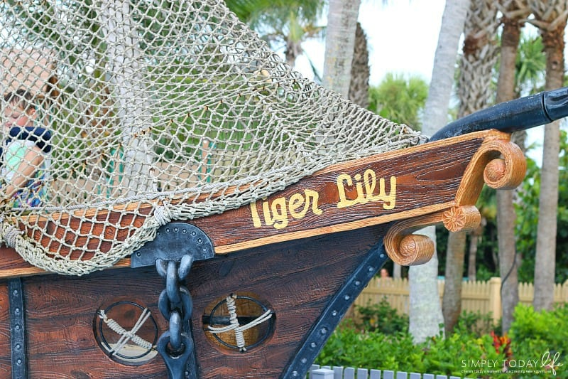 8 Reasons To Stay At Disney's Vero Beach Resort + Room Tour - Tiger Lily Kids Pool