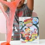 DIY Mickey and the Roadster Racers: Start Your Engines Glitter Slime + DVD Giveaway