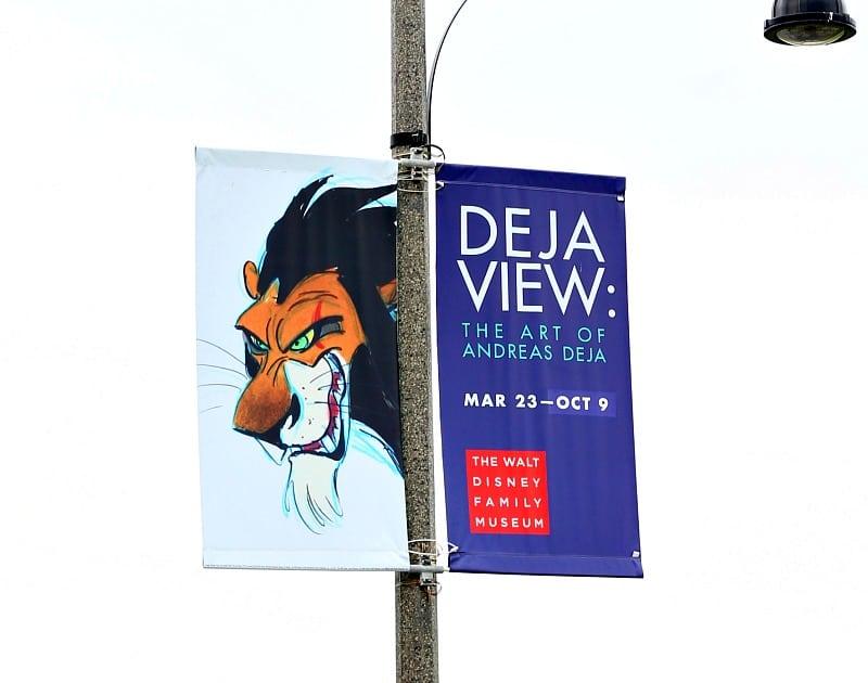 Deja View: The Art of Andreas Deja Details At The Walt Disney Family Museum - Deja View Banner