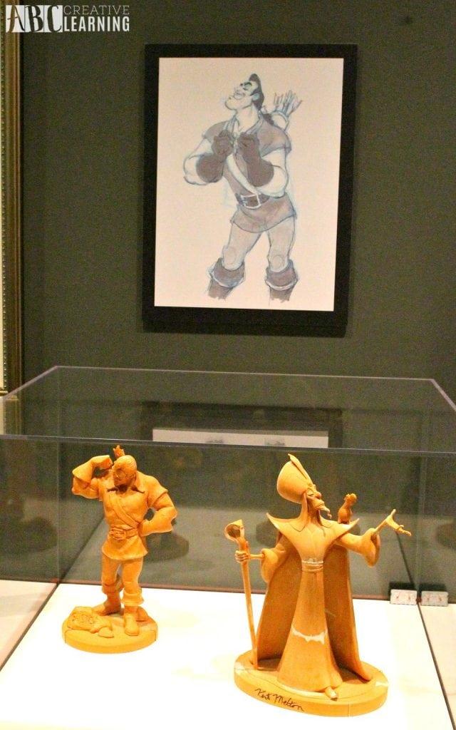 Deja View: The Art of Andreas Deja Details At The Walt Disney Family Museum - Gaston and Jafar