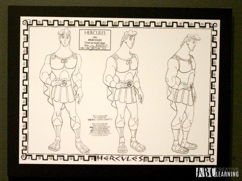 Deja View: The Art of Andreas Deja Details At The Walt Disney Family Museum - Hercules Drawing