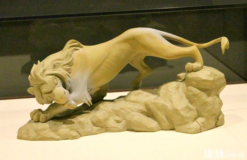 Deja View: The Art of Andreas Deja Details At The Walt Disney Family Museum - The Lion King Scar Mold