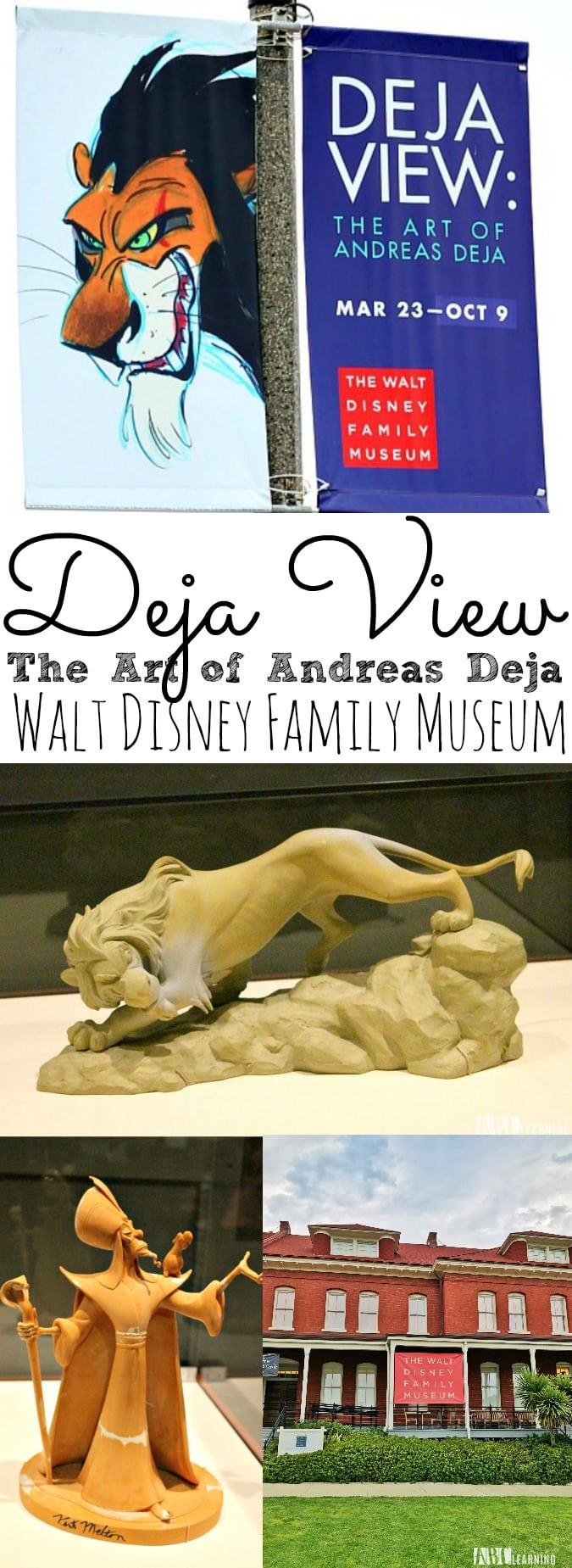 DEja View of Andreas Deja Details at the Walt Disney Family Museum