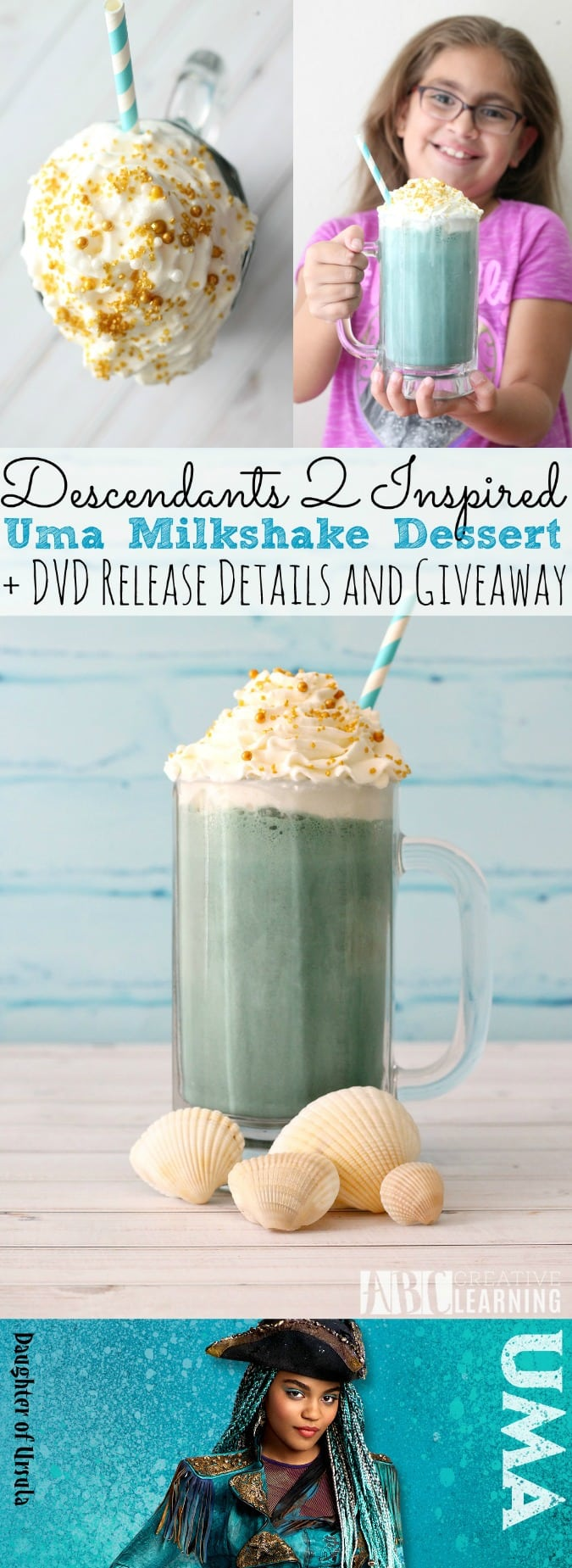 Descendants 2 Uma Milksahke Dessert Recipe