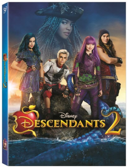 Descendants 2 Uma Milkshake Dessert + DVD Release Details and Giveaway - abccreativelearning.com