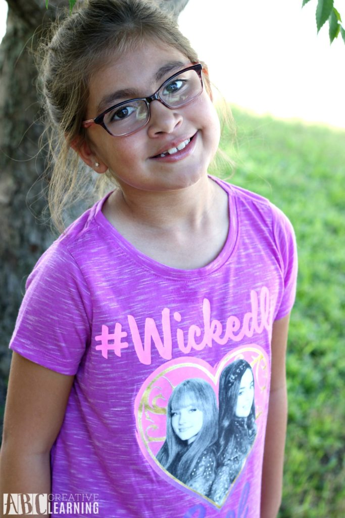 Encouraging Individuality With Back To School Style Trends From JCPenney + First Day Of School Printables - Descendants Shirts For Girls
