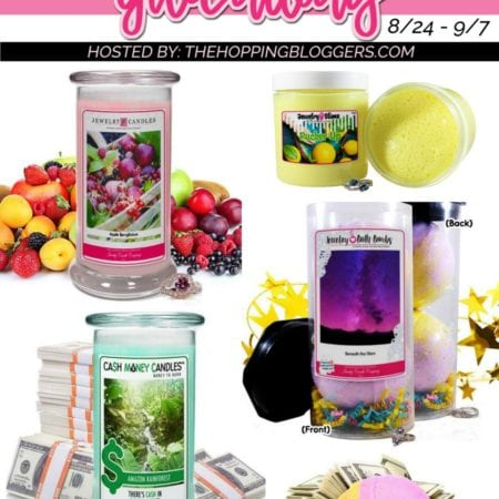 Jewelry Candles and Bath Bombs Giveaway