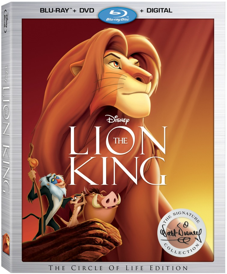 Disney's The Lion King On Digital and Blu-Ray DVD Details - abccreativelearning.com