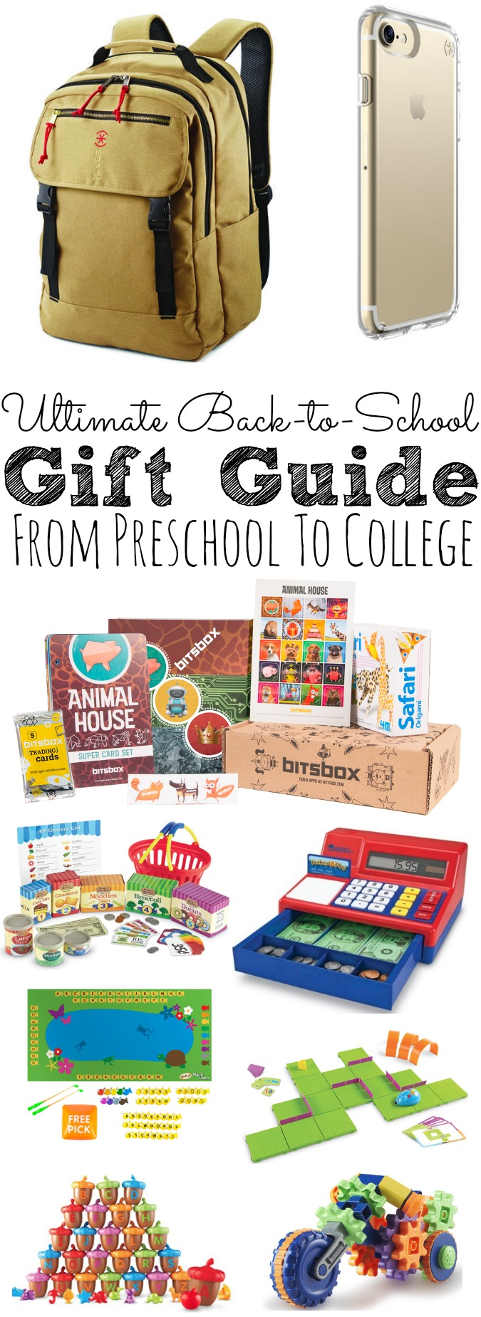 The 2017 Ultimate Back to School Gift Guide From Preschool To College - abccreativelearning.com