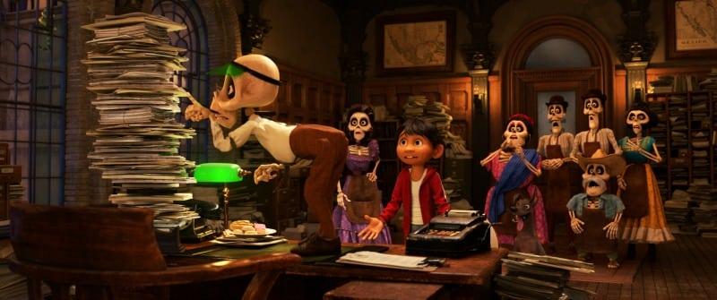 5 Facts You Should Know About COCO and Dia De Los Muertos - Coco Land of the Dead