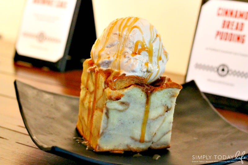 A Rock 'N Roll Experience with a Twist at Ace Cafe Orlando - Cinnamon Bread Pudding