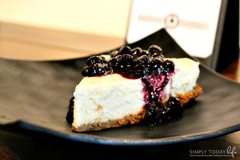 A Rock 'N Roll Experience with a Twist at Ace Cafe Orlando - Creamy Cheesecake