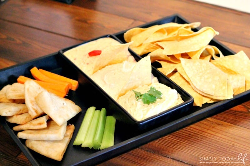 A Rock 'N Roll Experience with a Twist at Ace Cafe Orlando - Hummus Trio Platter