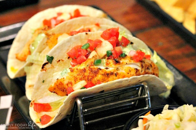 A Rock 'N Roll Experience with a Twist at Ace Cafe Orlando - Rumble Fish Taco