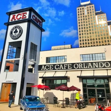 A Rock 'N Roll Experience with a Twist at Ace Cafe Orlando