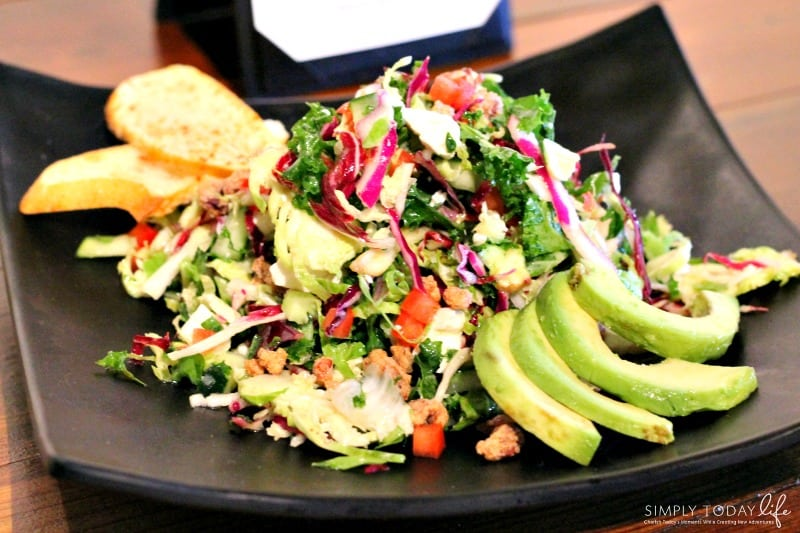 A Rock 'N Roll Experience with a Twist at Ace Cafe Orlando - Superfood Salad