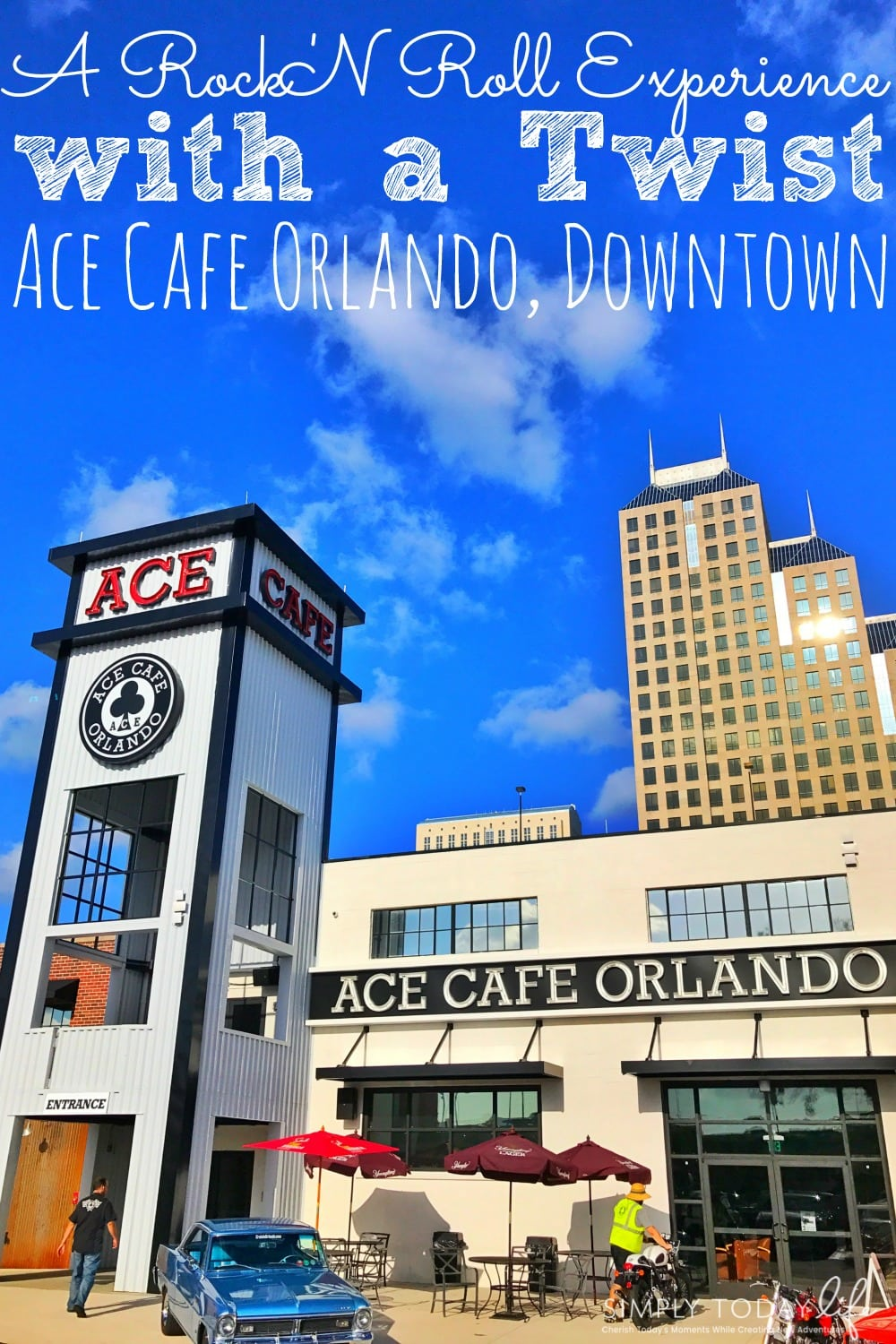 A Rock 'N Roll Experience with a Twist at Ace Cafe Orlando - simplytodaylife.com