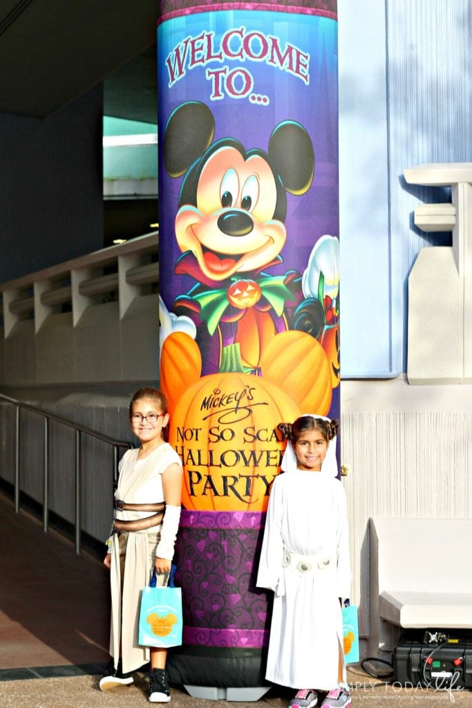 Allergy Friendly Guide To Mickey's Not So Scary Halloween Party Candy Location Banners