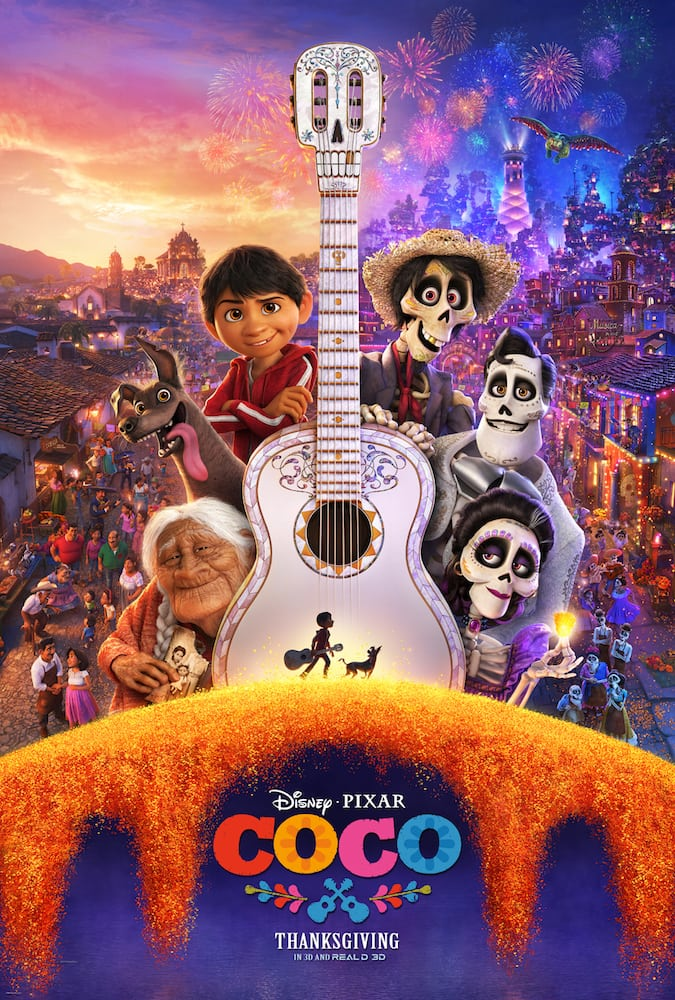 FREE COCO Coloring Pages and Activity Sheets with Movie Poster