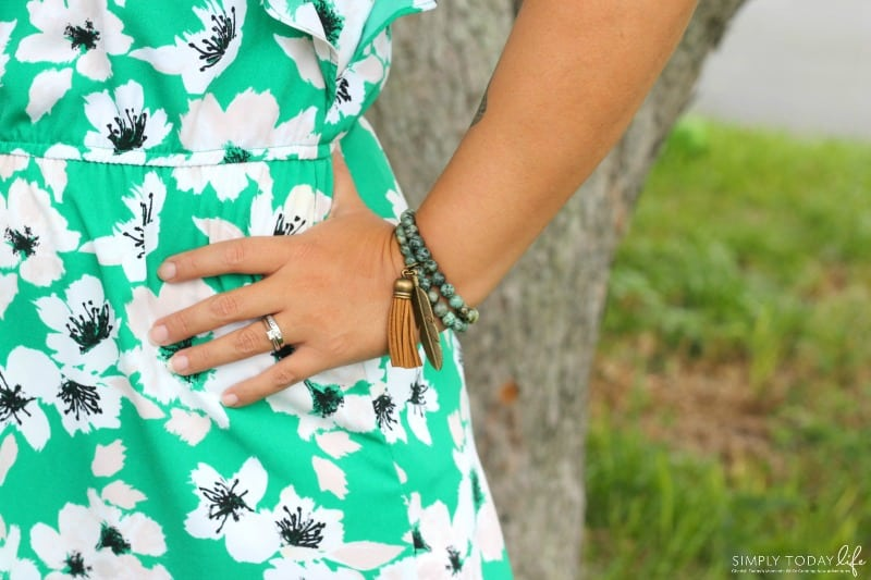 Mastering The Busy Mom Look With These 5 Must Have Items - Lakeside and Daydreams Bracelet