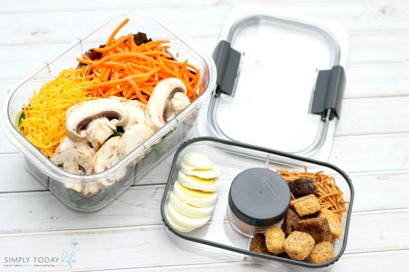 On The Go Easy Healthy Lunch Hack For work