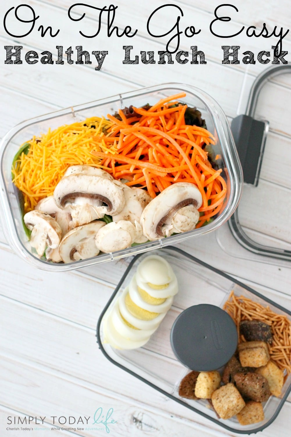 On The Go Easy Healthy Lunch Hack - simplytodaylife.com