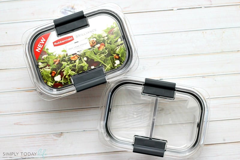 On The Go Easy Healthy Lunch Hack with Rubbermaid Salad and Snack 9 piece set