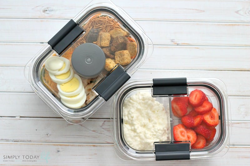 On The Go Easy Healthy Lunch Hack