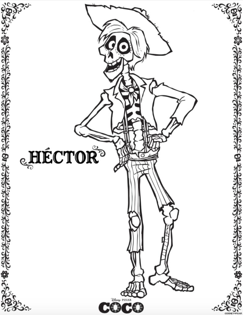 FREE COCO Hector Skellington