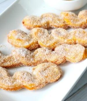Cinnamon and Sugar Pumpkin Churro Recipe