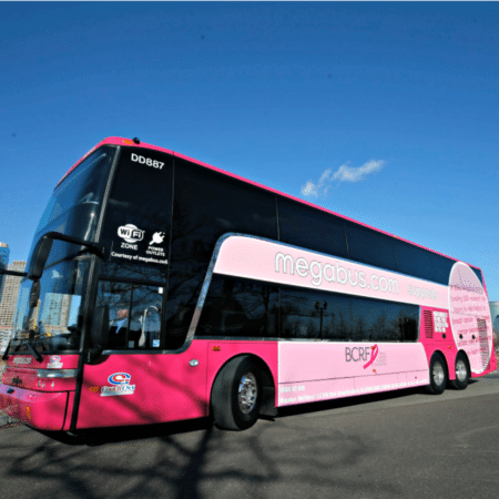 Megabus.com Contest To Support Breast Cancer Research Foundation