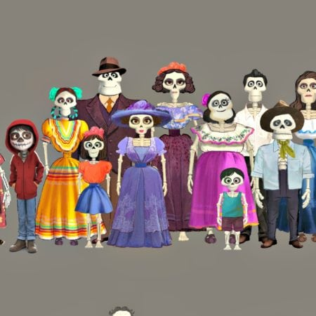 Significance And Facts About Bringing Skeletons To Life In COCO #PixarCoco