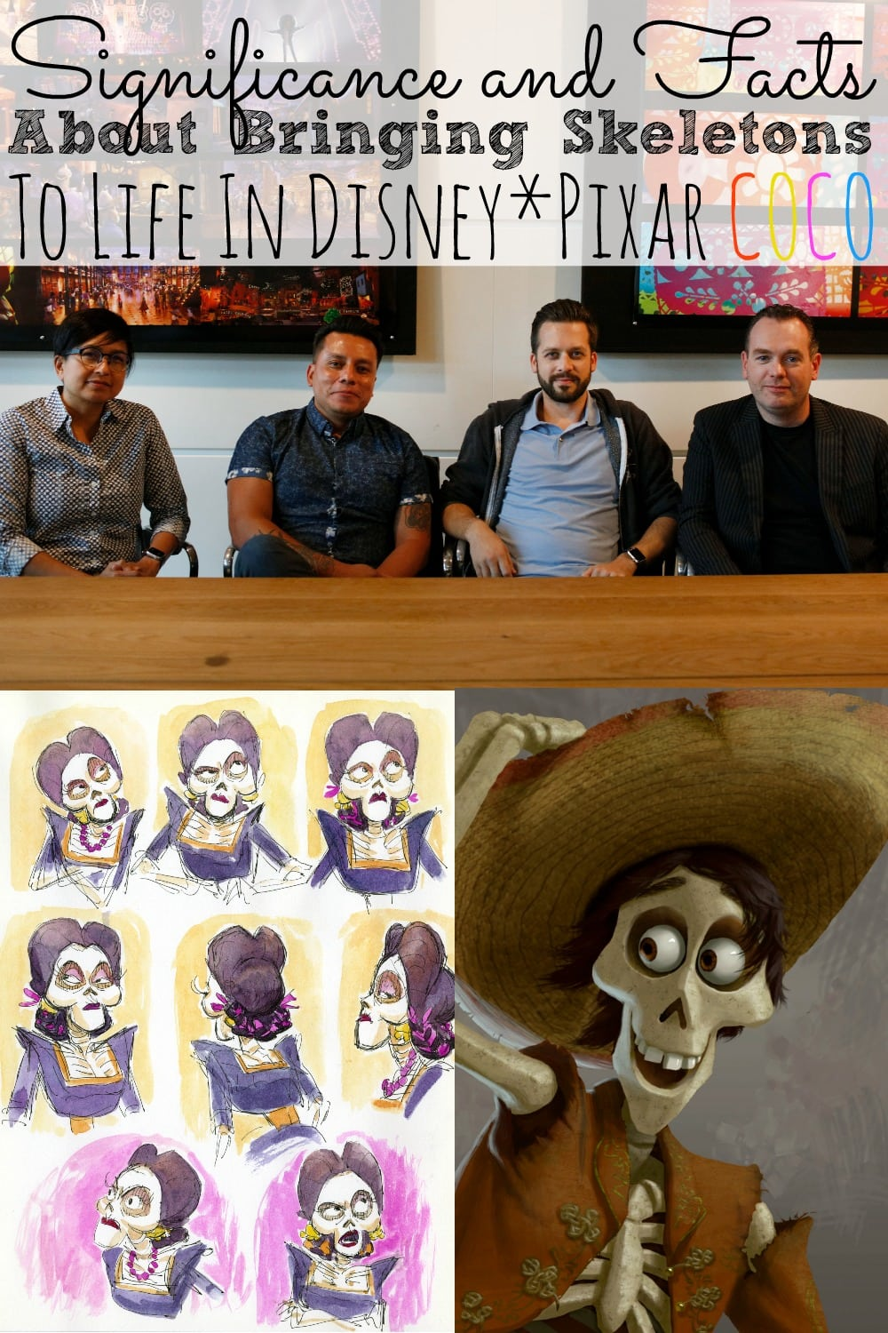 Significance And Facts About Bringing Skeletons To Life In COCO #PixarCocoEvent - simplytodaylife.com